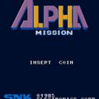 Alpha Mission (U) / ASO (Armored Scrum Object) (J)