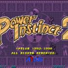 Power Instinct 2 (U) / Gouketsuji Ichizoku 2 (J)