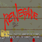 Renegade (U) / Nekketsu Kouha Kunio-Kun (J)
