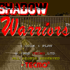 Shadow Warriors (W) / Ninja Gaiden (U) / Ninja Ryukenden (J)