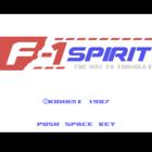 F-1 Spirit: The Way to Formula-1 / A1 Spirit: The Way to Formula-1
