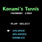Konami's Tennis