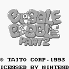 Bubble Bobble Part 2 (U) / Bubble Bobble Junior (J)