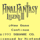 Final Fantasy Legend III (U) / Sa・Ga 3: Jikuu no Hasha (J)