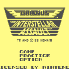 Gradius: The Interstellar Assault (U) / Nemesis II (J) / Nemesis II: The Return of the Hero (E)