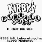 Kirby's Pinball Land (UE)/ Kirby no Pinball (J)