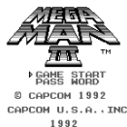 Mega Man III (U, E) / Rockman World 3 (J)