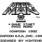 Mega Man II (U, E) / Rockman World 2 (J)