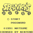 Spanky's Quest (U) / Lucky Monkey (J)