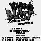 Bomberman GB (J) / Wario Blast: Featuring Bomberman! (UE)