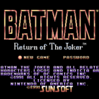 Batman: Return of The Joker (U, E) / Dynamite Batman (J)