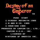 Destiny of an Emperor (U) / Tenchi o Kurau (J)