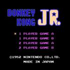 Donkey Kong Jr. (E, J) / Donkey Kong Jr. Math (U, E) / Donkey Kong Jr. no Sansu Asobi (J) / Donkey Kong Classics (E)