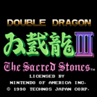 Double Dragon III: The Sacred Stones (UE) / Double  Dragon III: The Rosetta Stone (J)