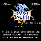 Dragon Spirit: The New Legend (U) / Dragon Spirit: Aratanaru Densetsu (J)