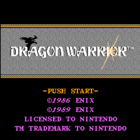 Dragon Warrior (U) / Dragon Quest (J)