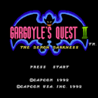 Gargoyle's Quest II (U) / Red Arremer II (J)