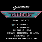 Gradius / Vs. Gradius