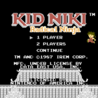Kid Niki - Radical Ninja (U) / Kaiketsu Yanchamaru (J)