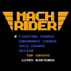 Mach Rider / Vs. Mach Rider