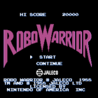 Robo Warrior (UE) / Bomber King (J)