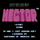 Starship Hector (U) / Hector '87 (J)