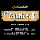 The Goonies II (UE) / Goonies 2: Fratelli Saigo no Chousen (J)
