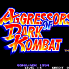 Aggressors of Dark Kombat (W) / Tsuukai Gangan Koushinkyoku (J)