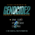 Genocide 2: Master of the Dark Communion