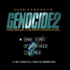 Genocide 2: Master of the Dark Communion