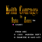 Keith Courage in Alpha Zones (U) / Majin Eiyuuden Wataru (J)
